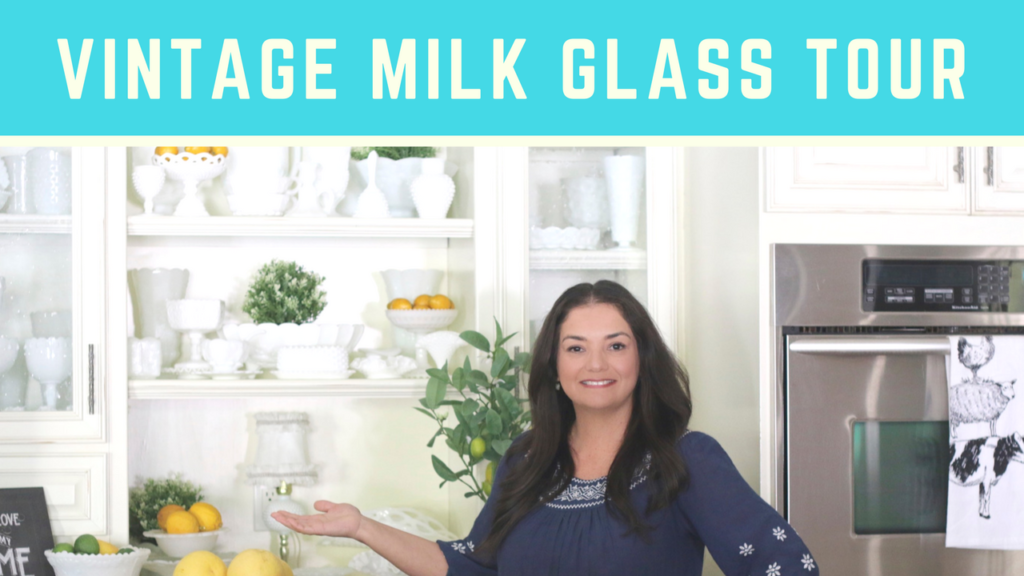 Vintage Milk Glass Tour